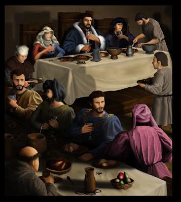 Medieval Banquet by cerkuenik