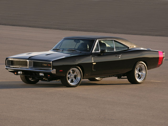 dodge vs. ford: throw back to 1969! dodge charger vs. ford mustang