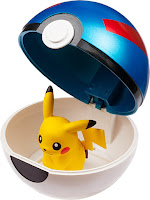 Figure storable into Poke Ball