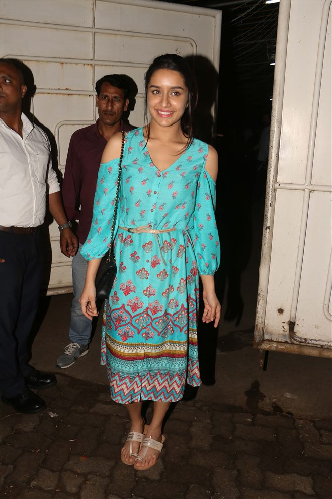 Haseena Parkar Special Screening At Sunny Super Sound In Mumbai