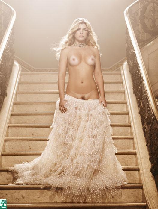 Iris Stefanelli pelada, nua na Playboy 1