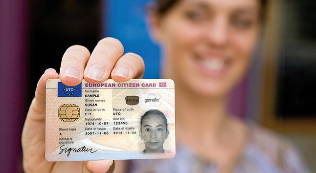 Carte D Identite Europeenne.Securite Interieure Fr Une Carte D Identite Europeenne