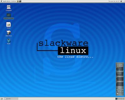 Slackware توزيعة