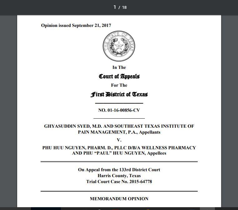 COA.TX: Disparagement lawsuit not a health-care-liability claim just ...