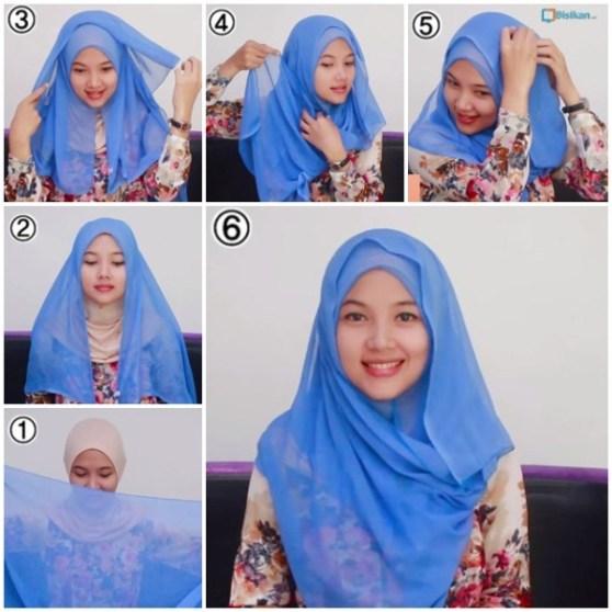 cara pake hijab style 2