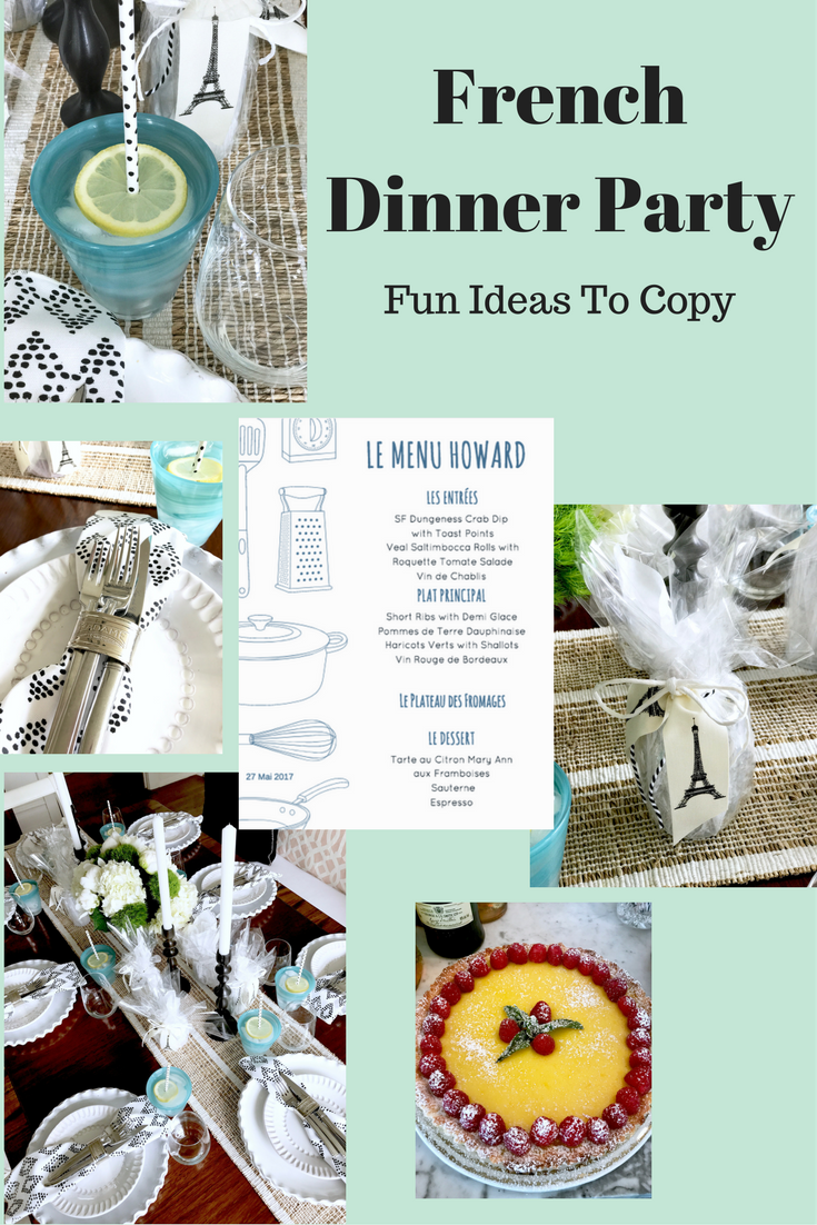 classic casual home five tips for a casual french On french dinner party ideas