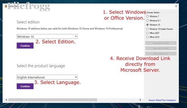 Microsoft Windows and Office ISO Download Tool Terbaru