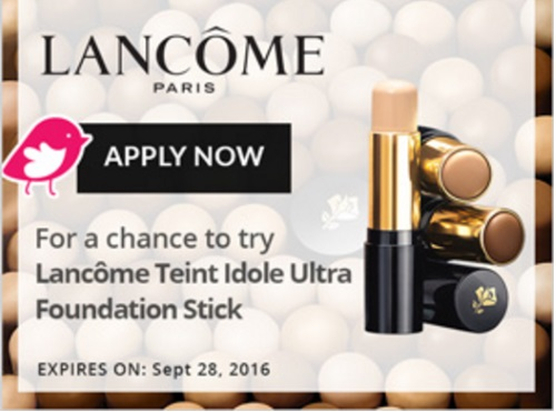 Chickadvisor Lancôme Teint Idole Ultra Stick Campaign