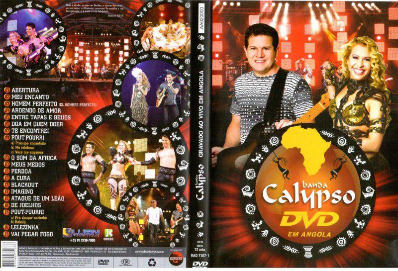 dvd banda calypso na angola