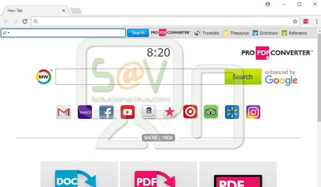 ProPDFConverter Toolbar