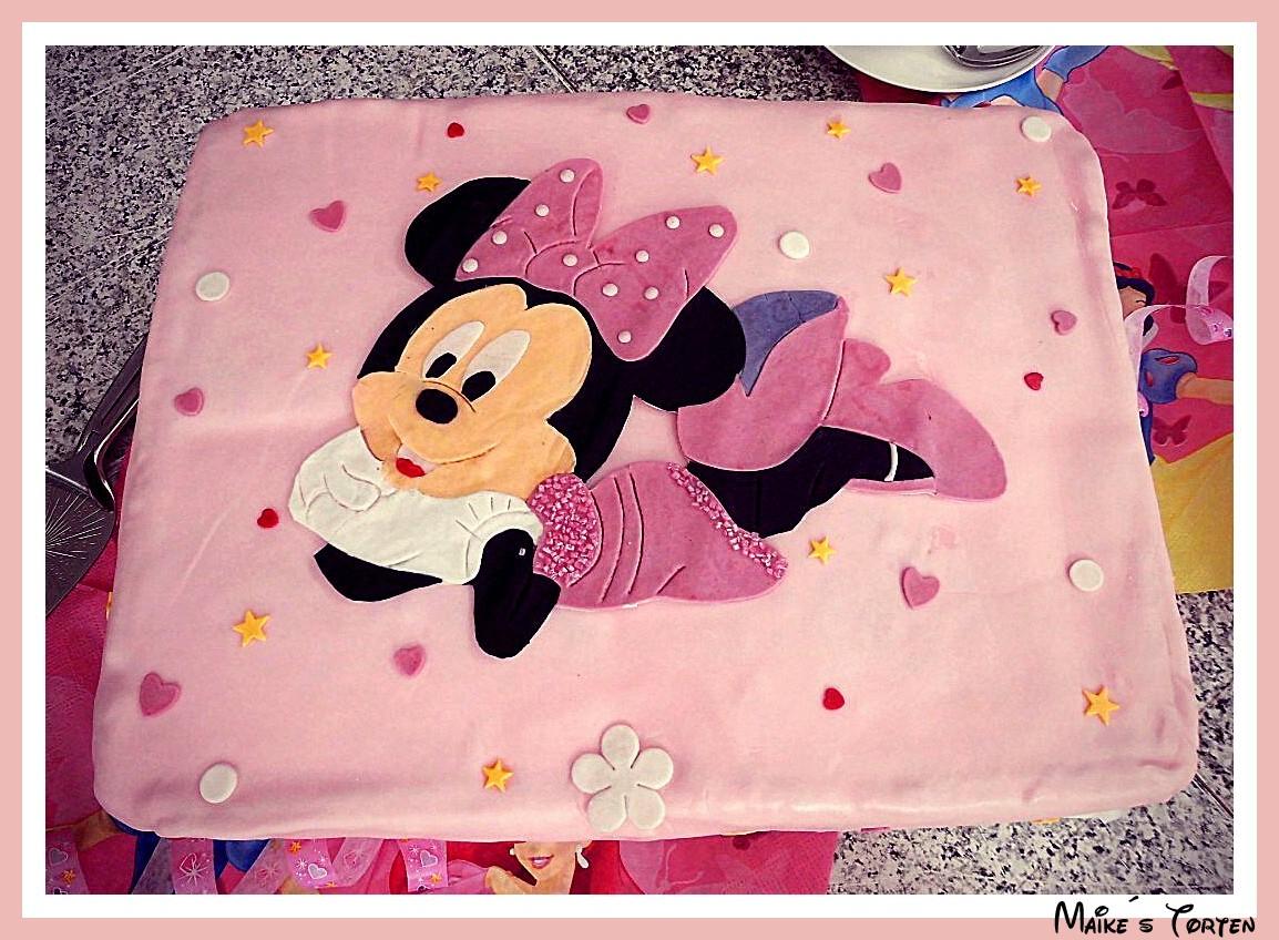 Maikes Süße Welt Minnie Maus Torte