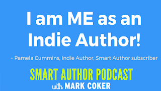 "image reads:  ""I am ME as an Indie Author"""