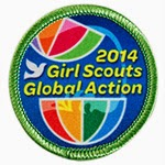 2104 Girl Scouts Global Action Award