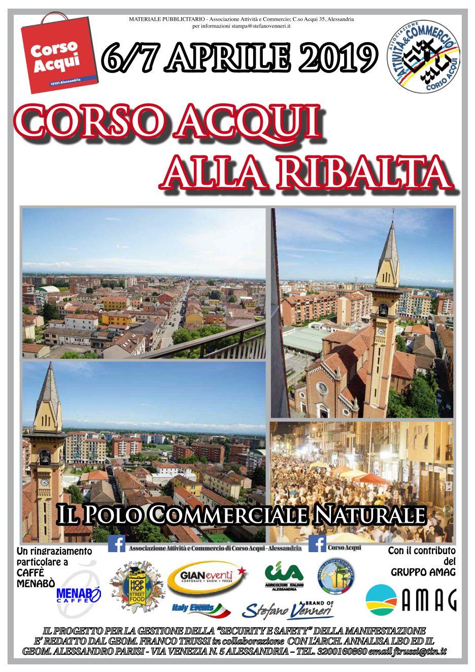 BlogAL Alessandria CORSO ACQUI ALLA RIBALTA  si avvicina il Grande Evento al Cristo