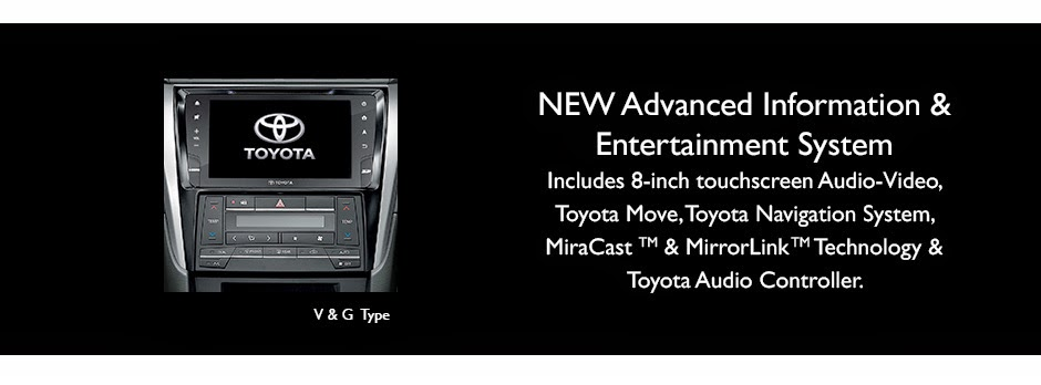 new-camry entertainment system