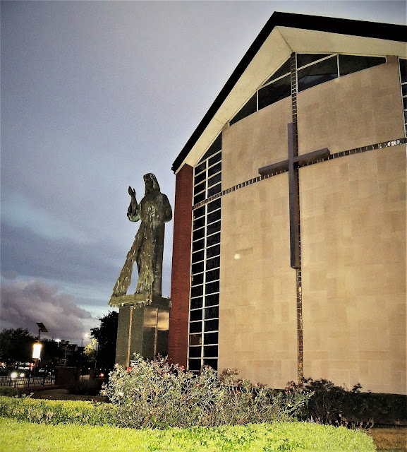 St. Vincent de Paul Catholic Church on Holcombe Blvd.