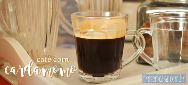 cafe com cardamomo