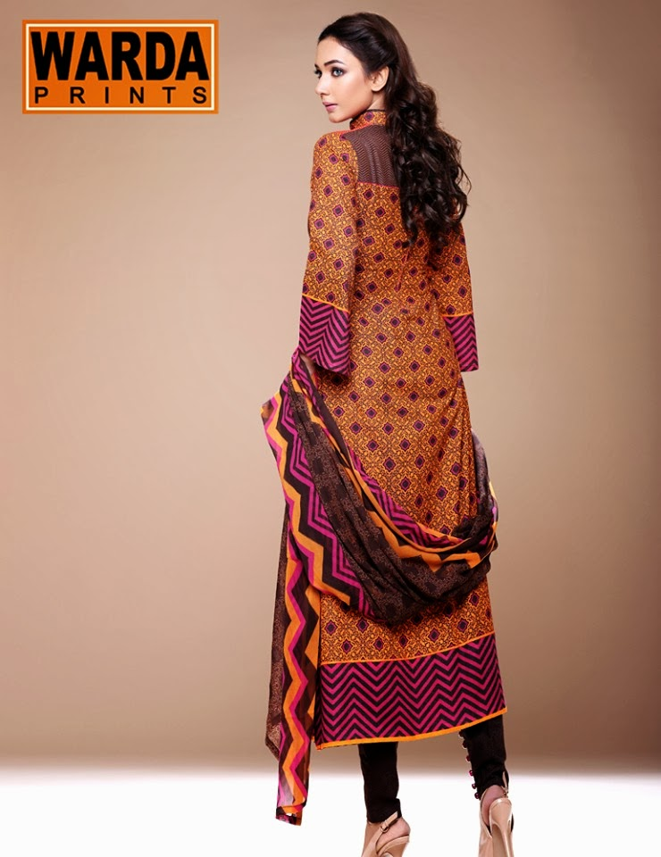 Latest Fall Winter Collection 2014 15 By Warda Prints