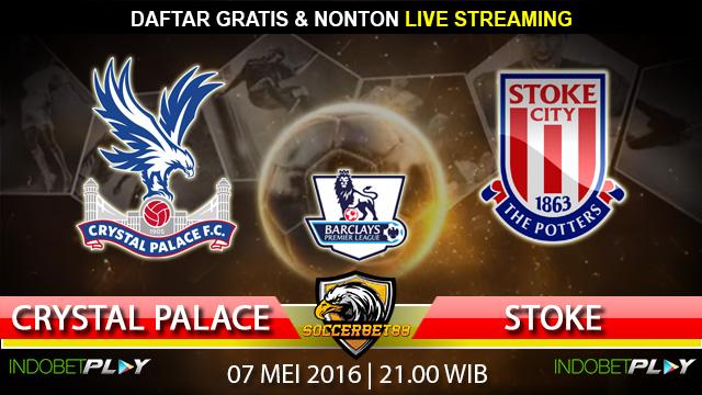Prediksi Crystal Palace vs Stoke 07 Mei 2016 (Liga Inggris)