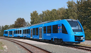 Germany rolls out world's first hydrogen-powered train