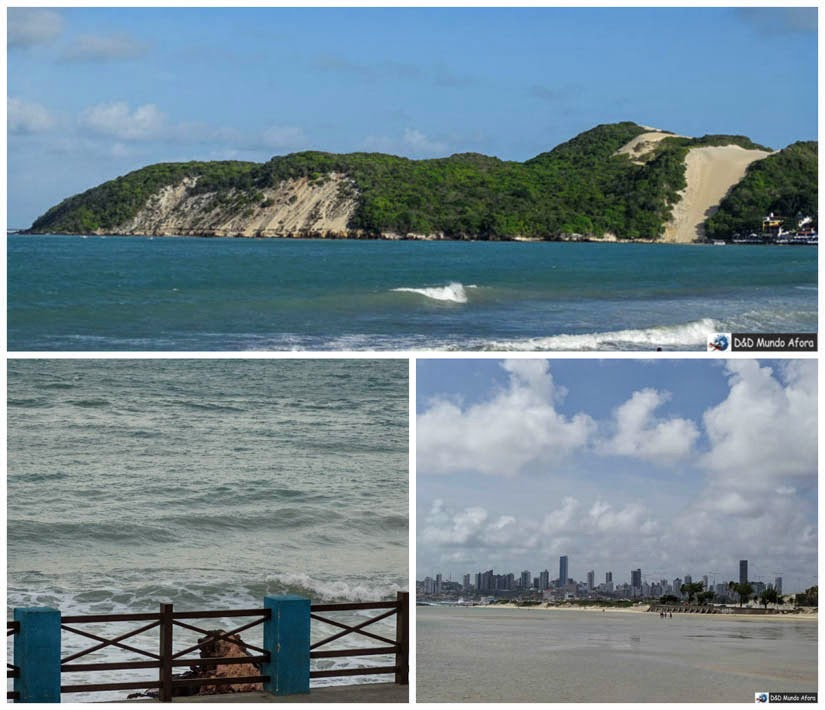 Praias de Ponta Negra, dos Artistas e do Forte - Praias de Natal, Rio Grande do Norte