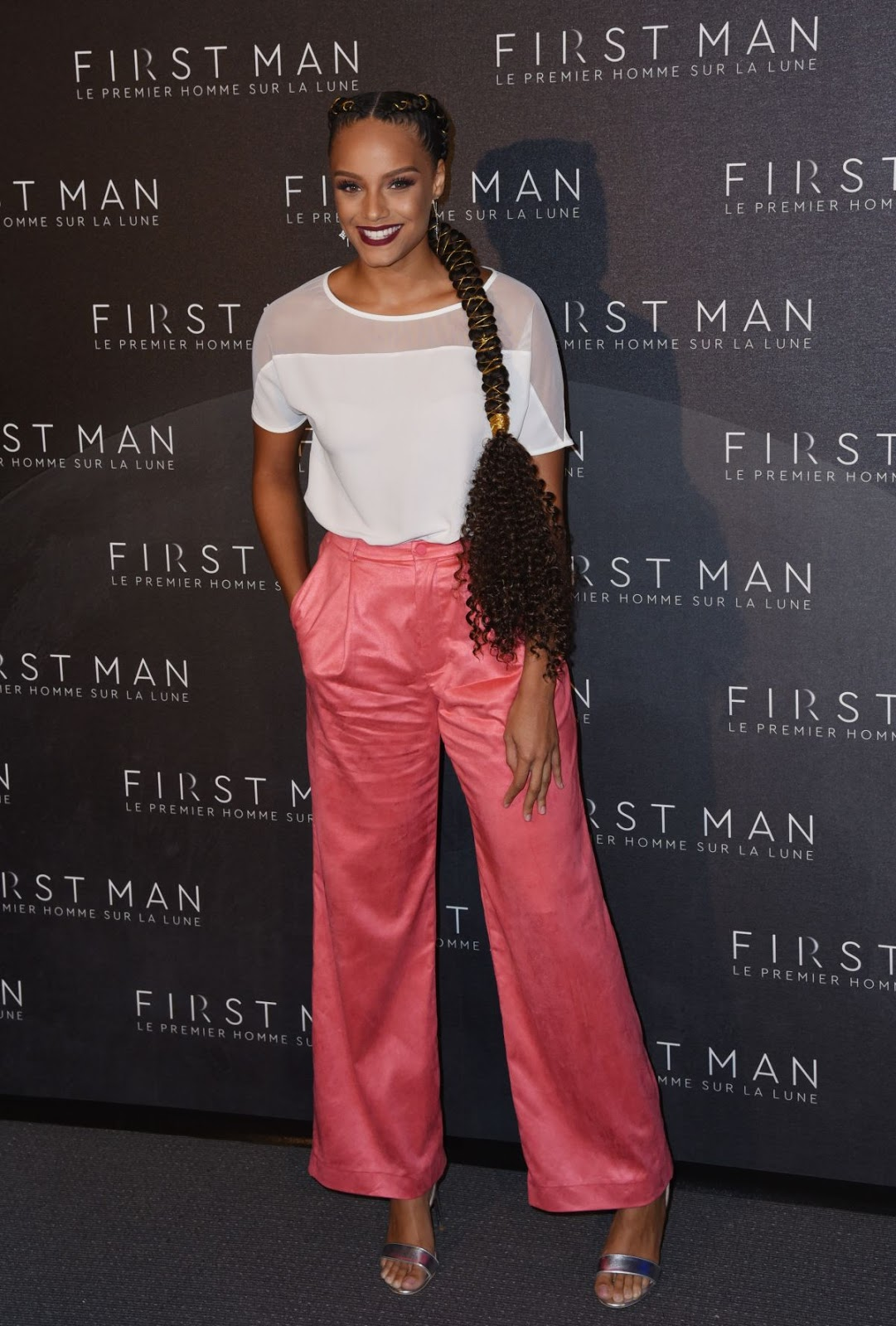 Alicia Aylies at First Man Premiere in Paris 09/25/2018