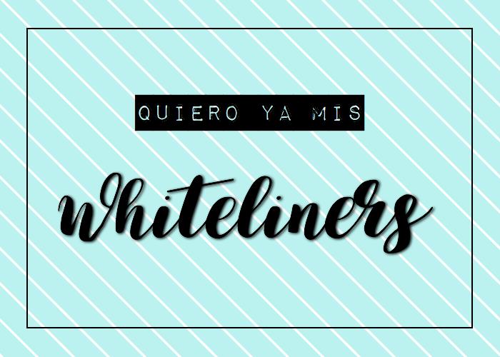 La vuelta al cole.  Whiteliners!!!!