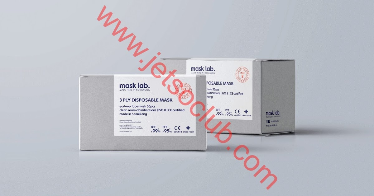 Mask Lab HK:港產口罩 $128/盒(10/4 12:00預售) ( Jetso Club 著數俱樂部 )