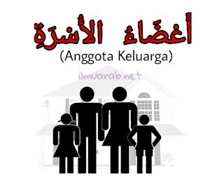 Bahasa Arab Tentang Anggota Keluarga Beserta Artinya
