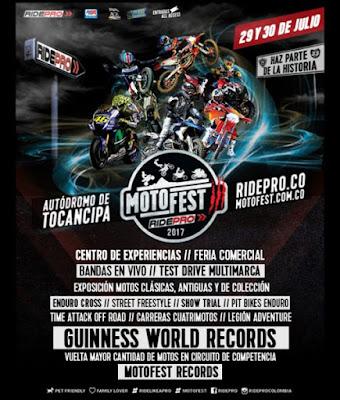 MOTO FEST III Autodromo de Tocancipá