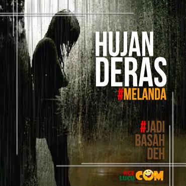 Meme Lucu DP BBM Hujan Deras