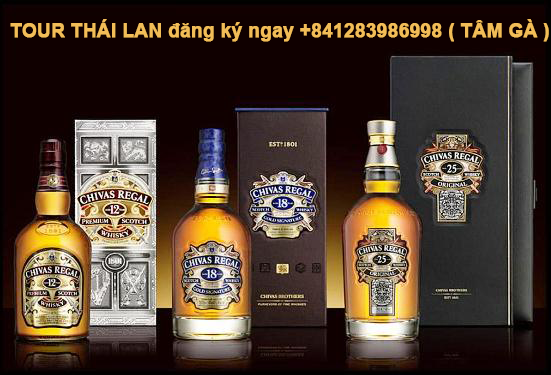 RƯỢU CHIVAS REGAL 18