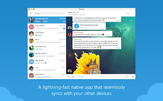 Telegram 1.3.7 Desktop for Mac Final Terbaru (32-bit/64-bit) - Duosia