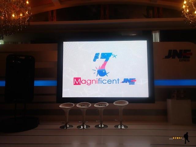 JNE 7 Magnificent - 7 Revolusi Terbaru JNE yang Menakjubkan