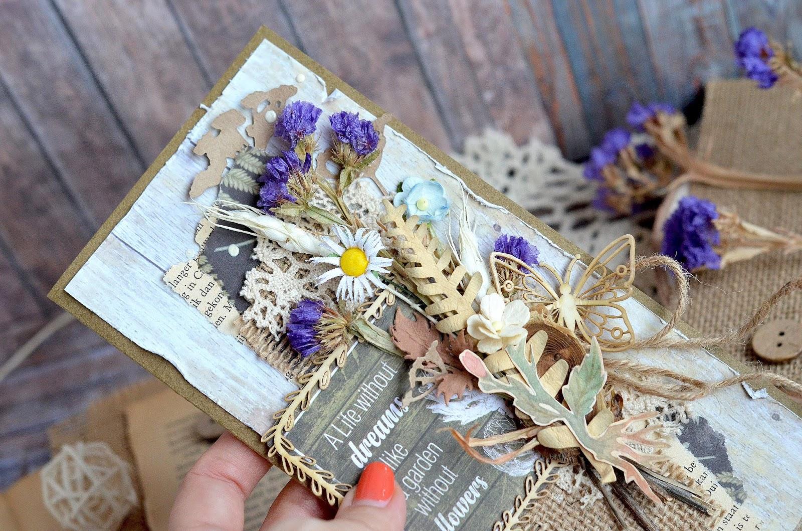 Театральная, открытки из сухоцветов своими руками