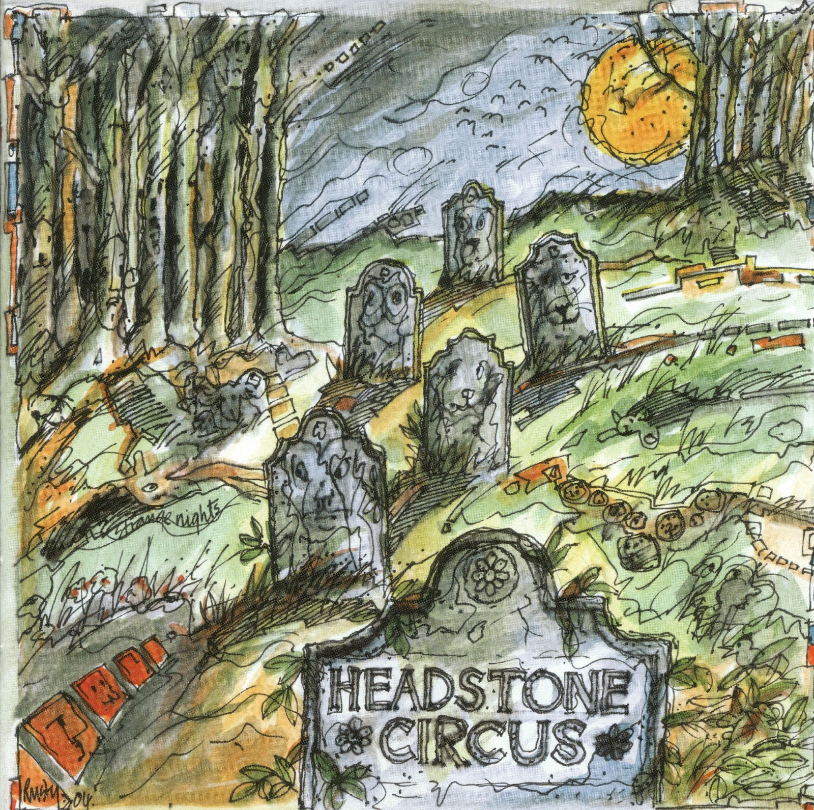 Headstone Circus - Headstone Circus! (1968-70 us, awesome