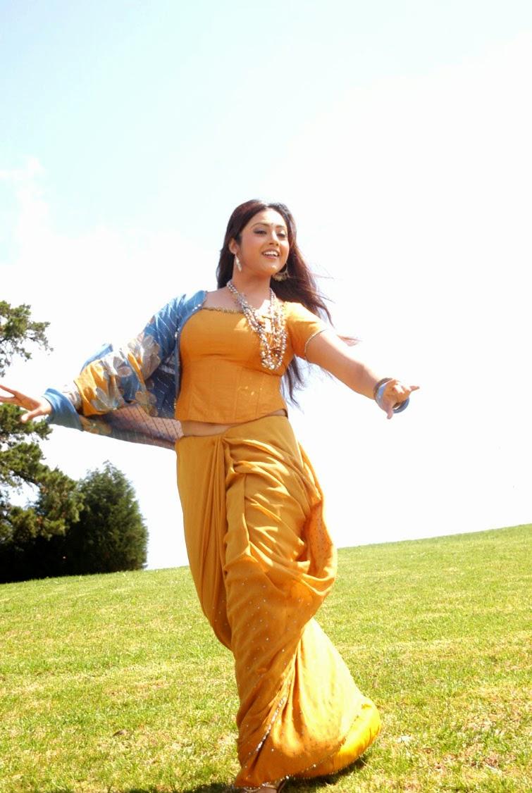 Meena South Actress Hot Navel Pics