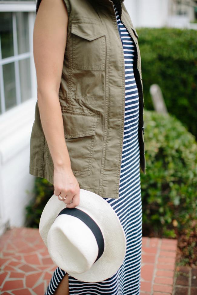 Maternity Uniform, Gap Maxi dress