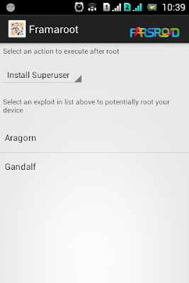 framaroot for android