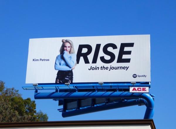 Kim Petras Rise Spotify billboard