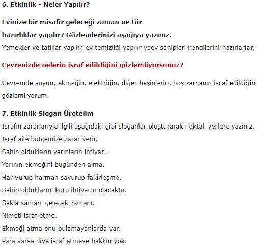 5. Sınıf İlke Yayınları Din Kültürü Ders Kitabı 66. Sayfa Cevapları 3.Ünite