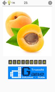 Soluzioni Frutti, verdure e noce livello 23