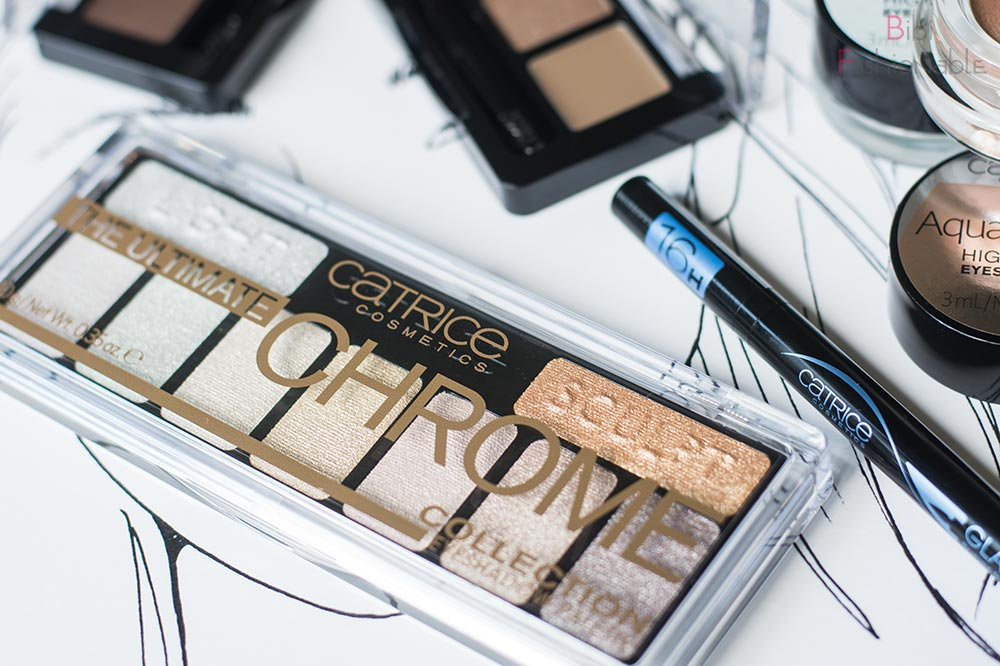 Catrice Update Herbst-Winter 2017 The Ultimate Chrome Collection Eyeshadow Palette