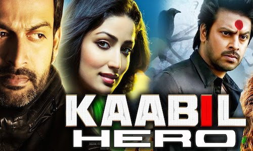 Poster of Kaabil Hero 2016 HDRip 720p Hindi Dubbed 1GB Watch Online Free Download Worldfree4u
