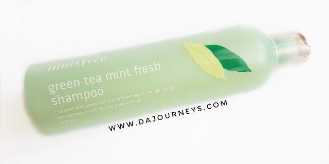 Innisfree Green Tea Mint Fresh Shampoo