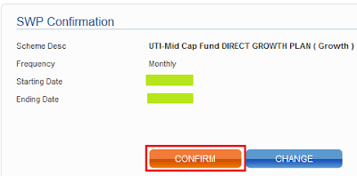UTI Mutual Fund - Start SWP