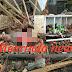 Rem Blong, Truck Tronton Tabrak 1 Sedan, 13 Sepeda Motor dan 7 Rumah Warga