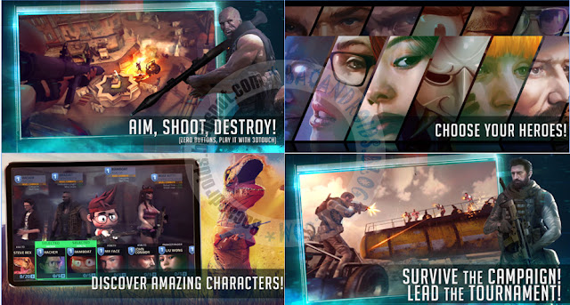 Download Game Cover Fire Apk v1.1.4 Apk Data Obb Full + Mod Unlimited Money vip