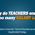 Reasons why teachers end up with too many Salary Loans