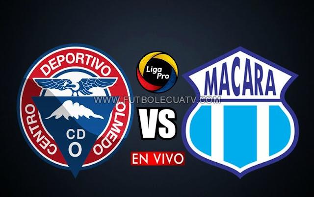 Olmedo choca ante Macará en vivo 💻 continuando la fecha dos de la Liga Pro a realizarse en el estadio Olímpico de Riobamba desde las 13h00 horario local, con arbitraje principal de Álex Cajas siendo emitido por el medio oficial GolTV Ecuador.